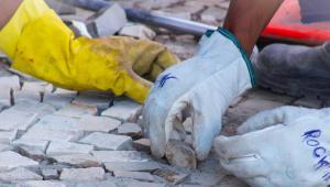 Conservação e manutenção de calçadas