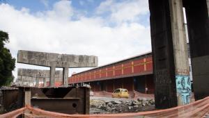 Obras de retirada da Perimetral - Outubro 2014