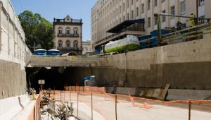 Via Binário - Emboque da Rua 1º de Março - Outubro 2014